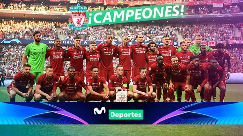 ¡The best 'Reds'! Liverpool ganó 2-0 a Tottenham y es el nuevo campeón de la Champions League