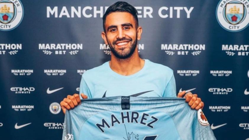 Riyad Mahrez es el nuevo fichaje del Manchester City