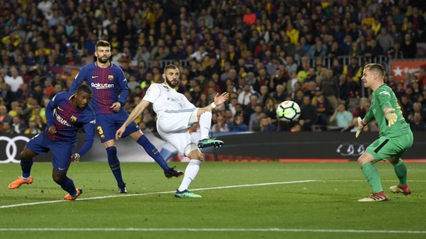 Barcelona y Real Madrid empataron 2 a 2 en el Camp Nou