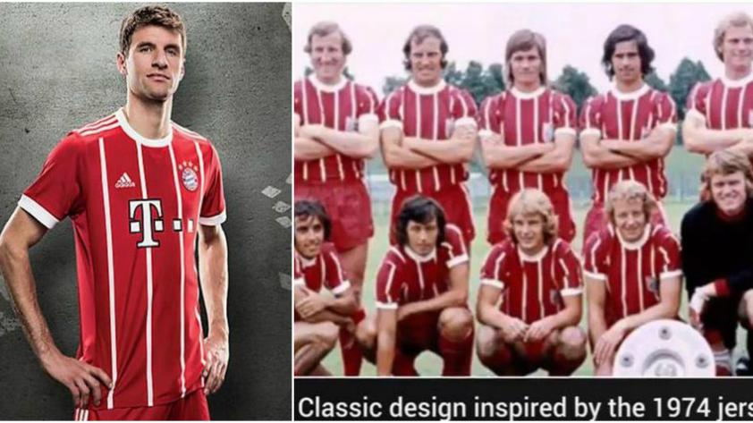Esta será la nueva camiseta del Bayern Munich