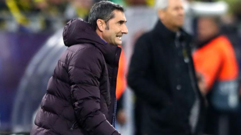 Ernesto Valverde reconoce que Borussia Dortmund