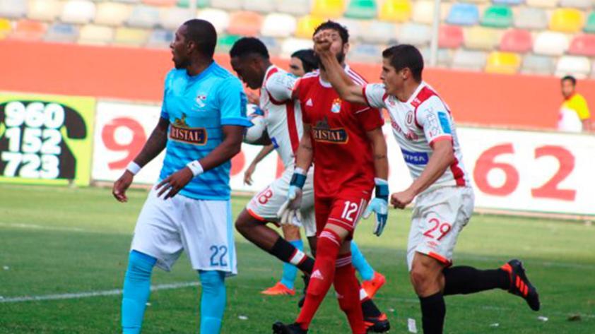 Universitario de Deportes vs. Sporting Cristal: empataron 2-2 por la fecha 12 del Clausura