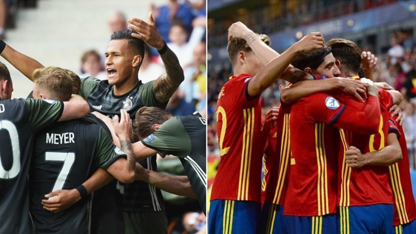 Alemania y España disputan la final de la Euro Sub-21