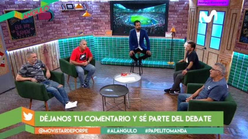 ¿Fútbol de la época pasada o el actual? así debatieron los panelistas de Al Ángulo