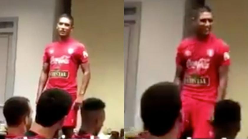(VIDEO) Selección Peruana: Roberto Siucho agradeció la oportunidad y bailó en concentración bicolor