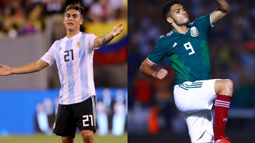 Argentina vs. México EN VIVO y ONLINE: chocna por amistoso internacional en Mendoza