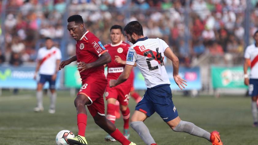 Universitario venció 1-2 a Deportivo Municipal de visita