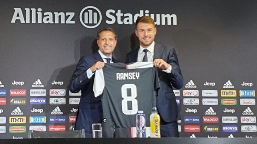 Aaron Ramsey, nuevo jugador de la Juventus: