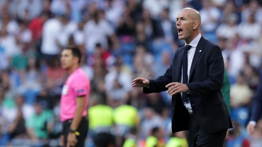Para Zinedine Zidane, los dos goles que le hicieron al Real Madrid