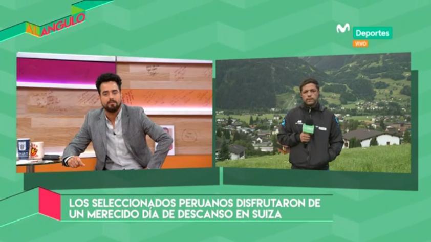Al Ángulo: la selección peruana disfrutó de un día libre