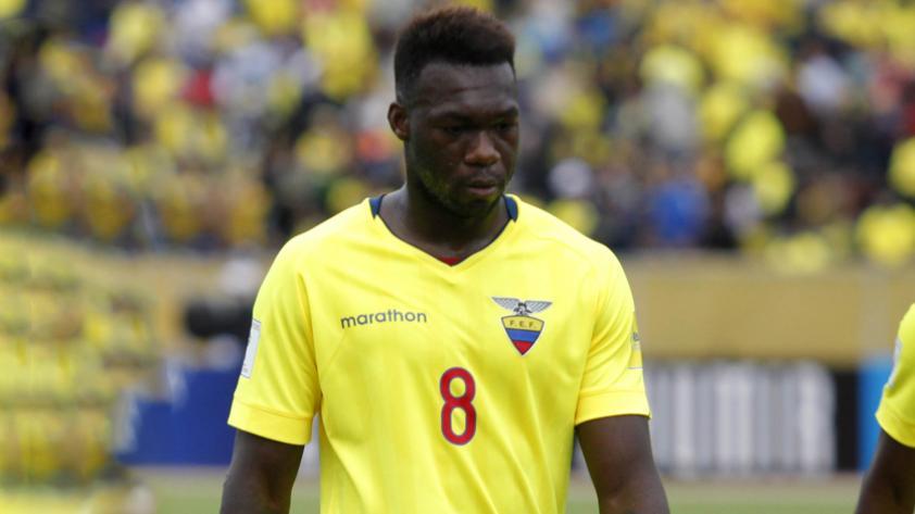 Felipe Caicedo renunció a la Selección Ecuatoriana