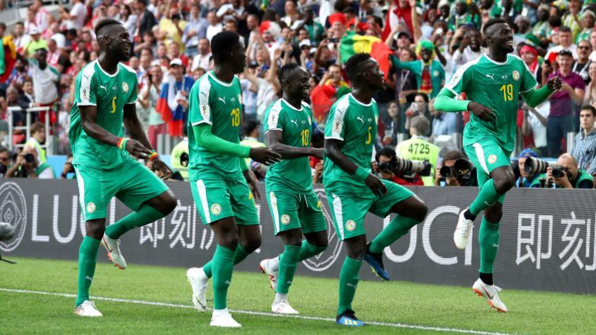 Senegal le ganó 2-1 a Polonia por el grupo H de Rusia 2018