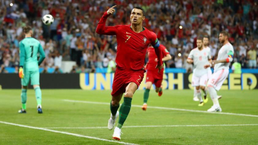 Los números de Cristiano Ronaldo en los Mundiales