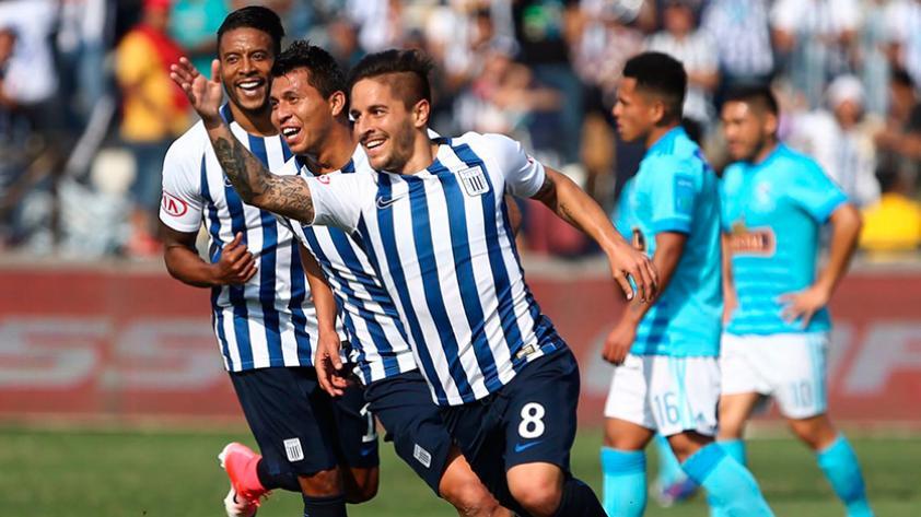 Alianza Lima se impuso 2-1 a Cristal por la fecha 5 del Clausura