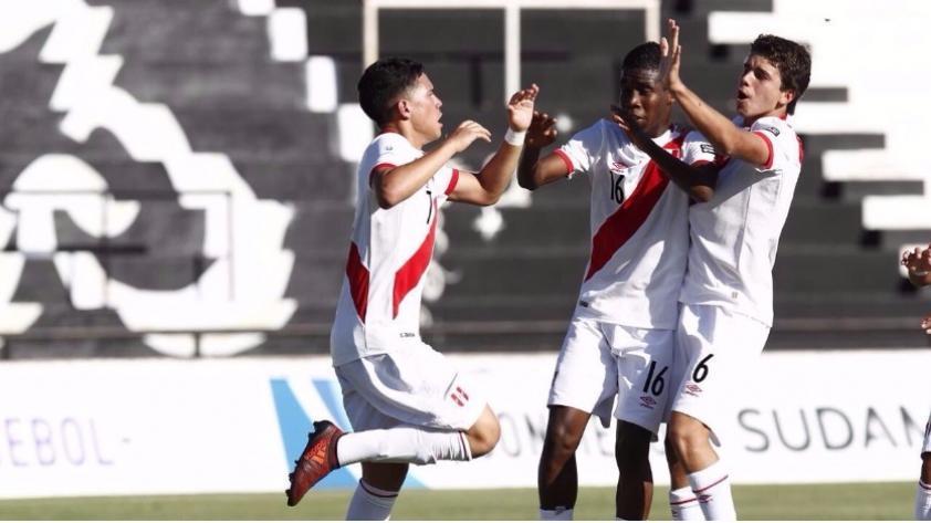 Perú empató 1-1 con Ecuador en el Sudamericano sub 15