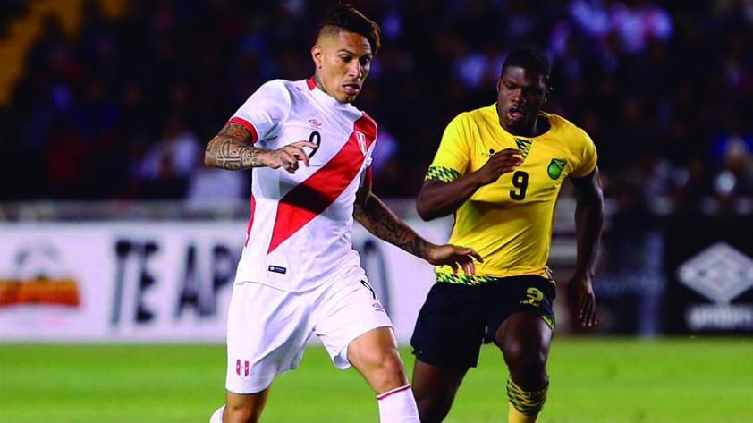 Perú ganó 3-1 a Jamaica en Arequipa