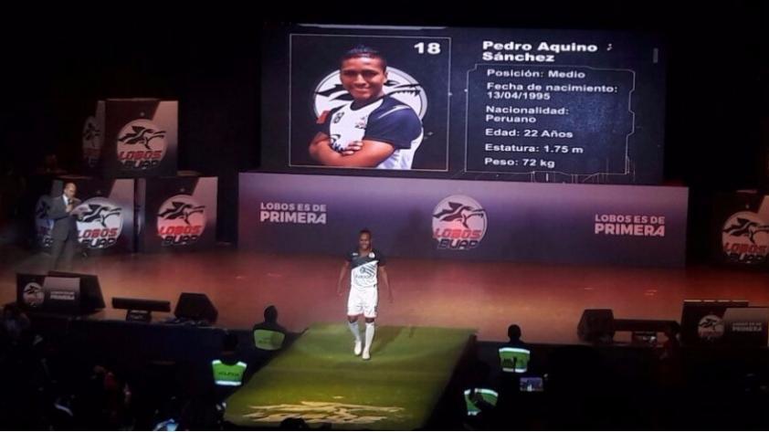 Con sabor peruano: Pedro Aquino y Luis Advíncula fueron presentados oficialmente en Lobos BUAP