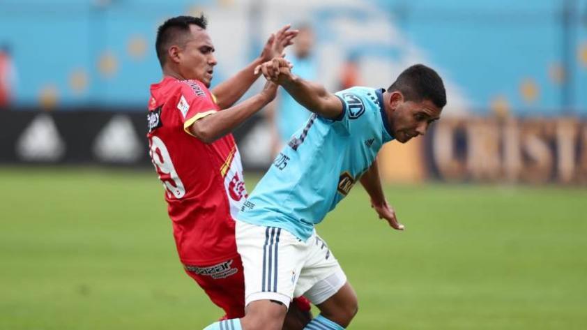 Alianza Lima vs Sporting Cristal: Cristian Palacios es la gran duda para el equipo 'rimense'