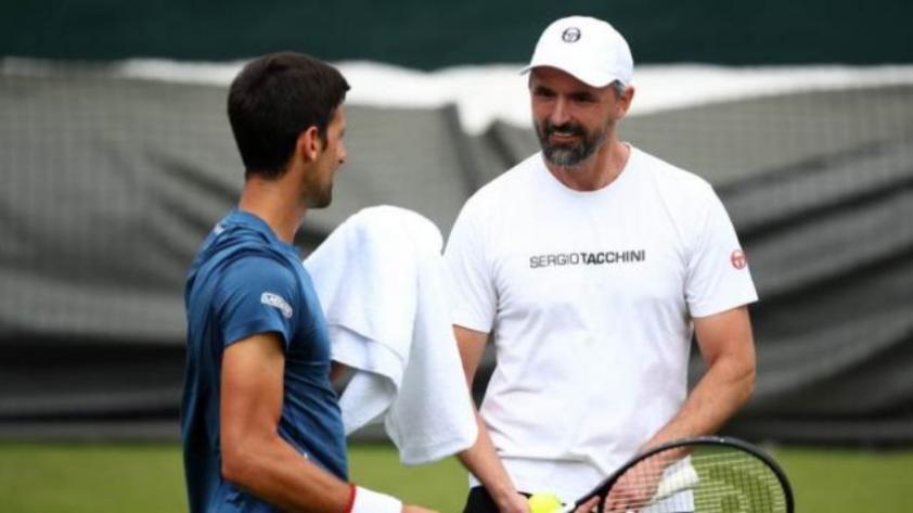 El entrenador de Novak Djoković superó el coronavirus