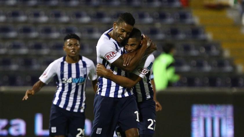 Alianza Lima venció 2-0 a Real Garcilaso