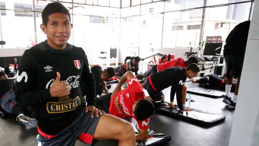 Selección Peruana: Edison Flores ya se sumó a los entrenamientos del plantel