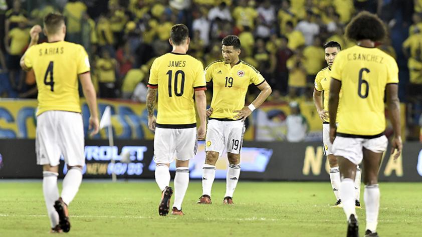 ¿Cómo le fue a la Selección de Colombia jugando de visita?