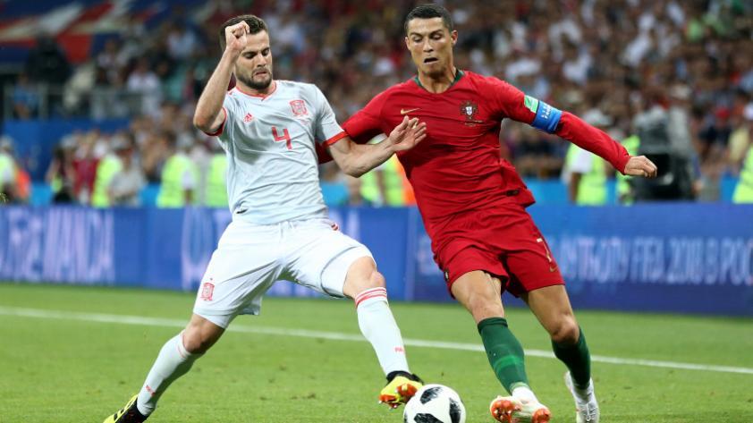 Portugal empató 3-3 con España por la primera fecha del grupo B de Rusia 2018.