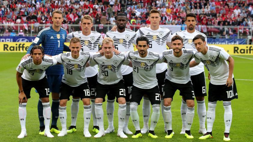 Selección de Alemania presentó su lista oficial para Rusia 2018 sin Leroy Sané