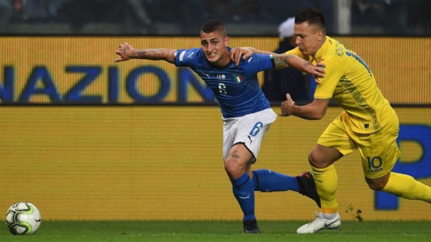 Italia sigue sin conocer la victoria tras empatar 1 a 1 ante Ucrania