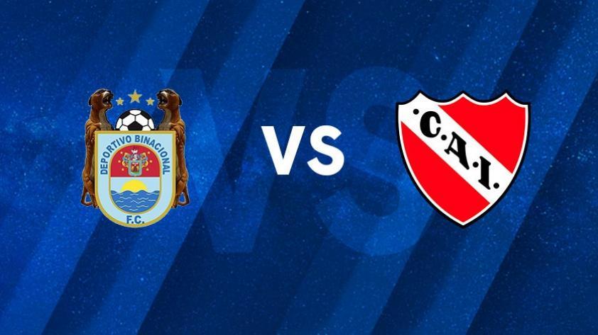 Binacional vs Independiente: fecha, hora y canal por el partido de vuelta de Copa