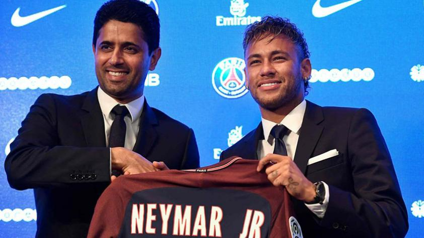 Neymar fue presentado oficialmente como jugador del PSG