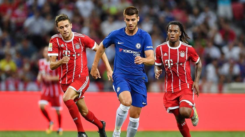 El Bayern domina y derrota al Chelsea