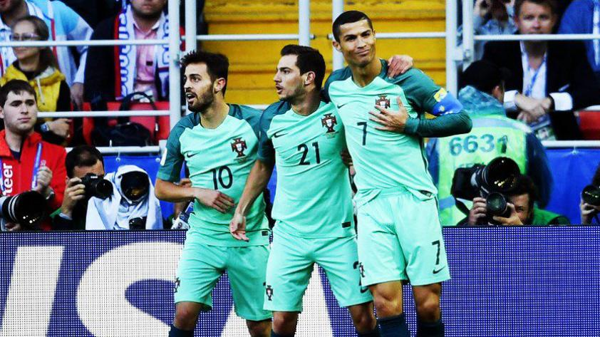 Portugal venció a Rusia con gol de Cristiano