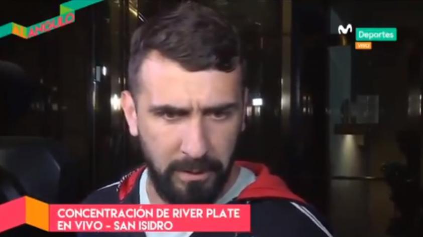 River Plate llegó a Lima para enfrentar a Alianza Lima por Copa Libertadores y esto dijo Lucas Pratto en Movistar Deportes (VÍDEO)