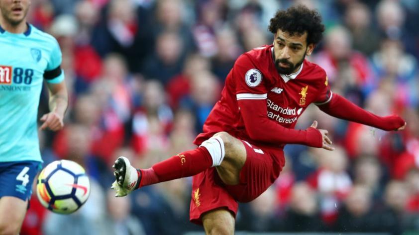 Mohamed Salah más cerca que Lionel Messi en la disputa de la 'Bota de Oro'