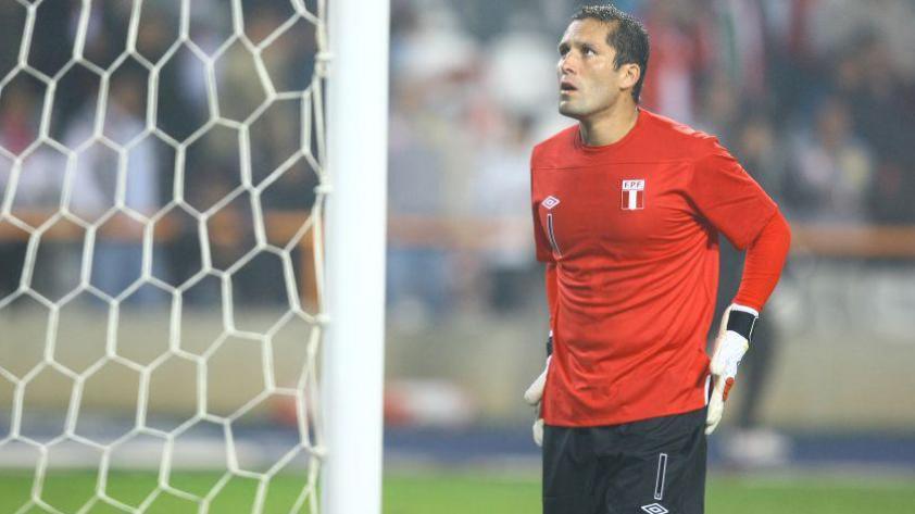 Los números de Leao Butrón en la Selección Peruana