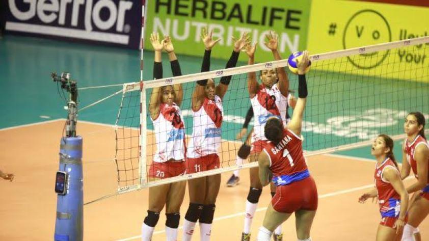 Perú venció 3 - 0 a Colombia en Chiclayo por el Grand Prix