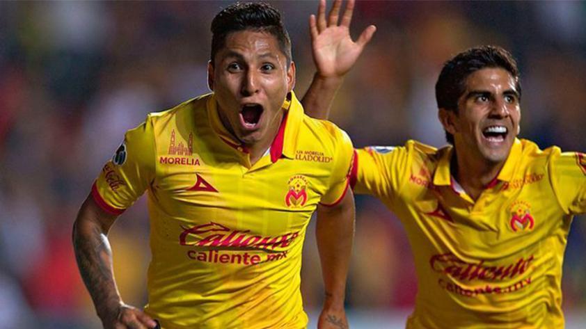 Ruidíaz y Polo fueron titulares en el empate del Morelia