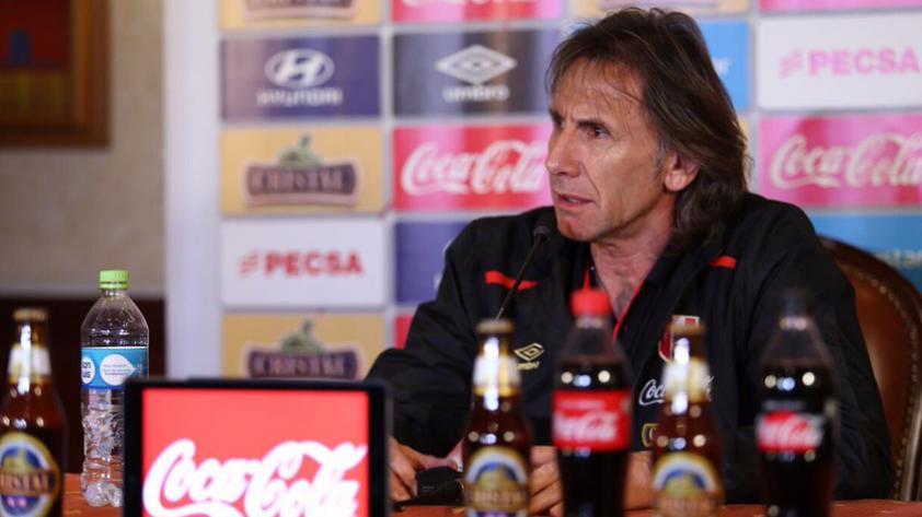 """Ricardo Gareca: """"Los partidos se van a sufrir de acá hasta el final"""""""