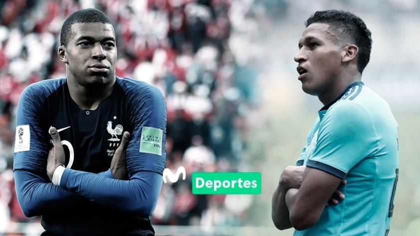 Fernando Pacheco afirmó que compañeros de Sporting Cristal lo comparan con Kylian Mbappé