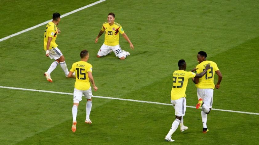 ¿Qué tal le ha ido a Colombia en los 8° de final de los Mundiales?