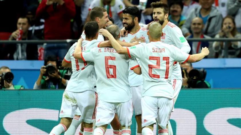 España derrota 1-0 a Irán en la segunda jornada del grupo B