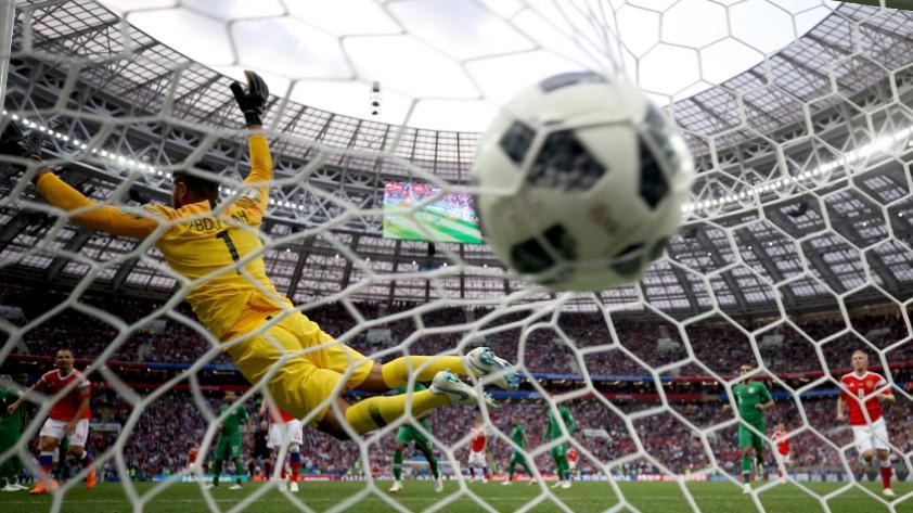 Rusia vs. Arabia Saudita: revive los goles del primer partido del Mundial