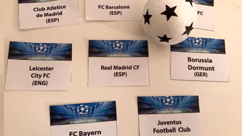 Champions League: Ya hay partidos de 4tos de final
