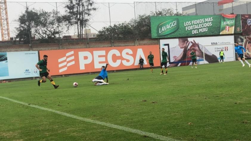 Alianza Lima cayó 2 a 0 en partido amistoso contra The Strongest de Bolivia