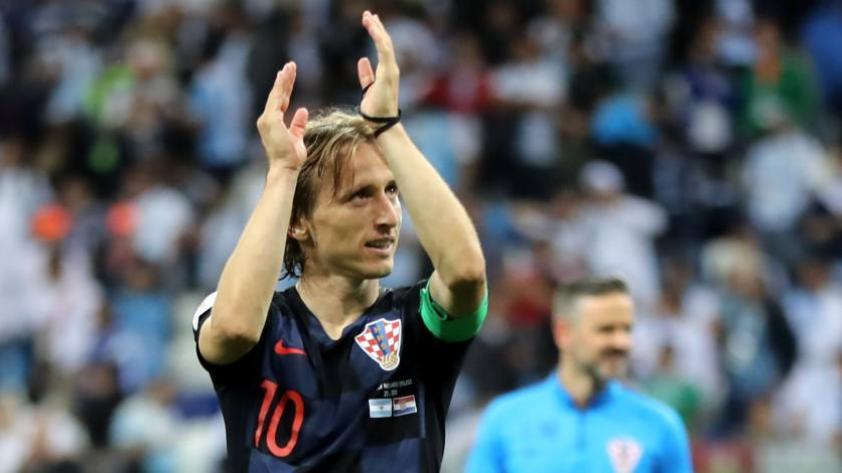 """Modric: """"Somos un equipo muy compacto"""""""