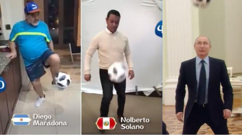 Rusia 2018: el video que preparó la FIFA con Solano, Maradona, Okocha, Ronaldo, Putin y más a 100 días del Mundial