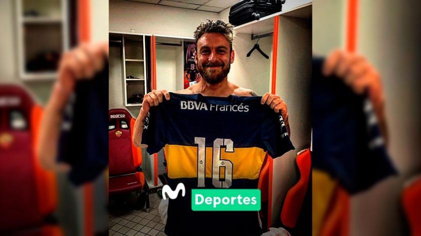 ¡Ya está en Argentina! Daniele De Rossi llegó para firmar su vínculo con Boca Juniors