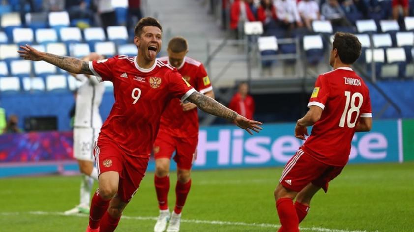 Empezó la Copa Confederaciones con el triunfo de Rusia sobre Nueva Zelanda