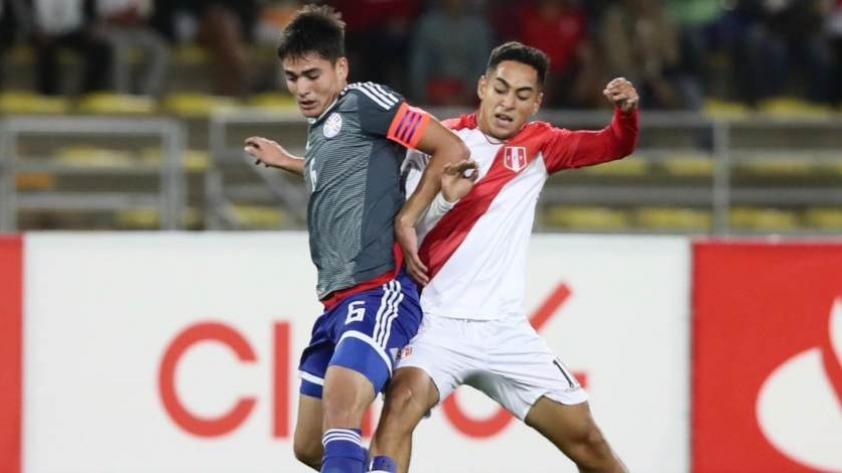 La selección peruana sub-17 cayó por 2-0 ante Paraguay